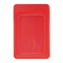 Tarjetero Billetero Dubai Rojo