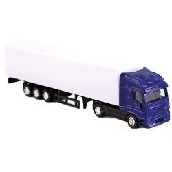 Camion Trailer Azul