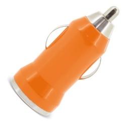 Cargador De Coche Usb Naranja