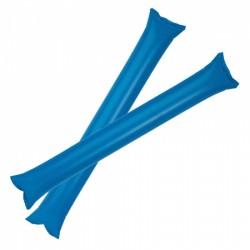 Pares Palos Inflado Pajilla Azul