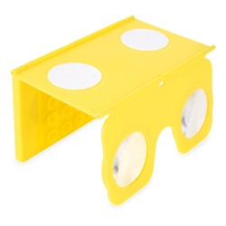 Visor Vr 3D Amarillo