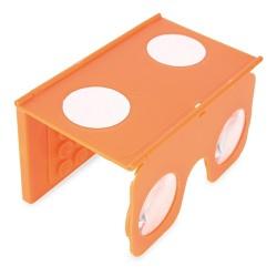Visor Vr 3D Naranja