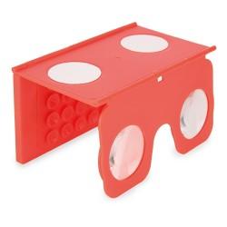 Visor Vr 3D Rojo