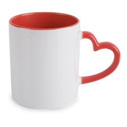 Mug Sublimacion Corazon