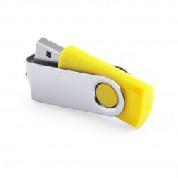 Memoria USB Rebik 16Gb Amarillo