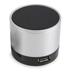 Altavoz Radio Aluminio Bluetooth Pt