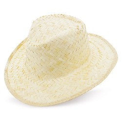 Sombrero Paja Claro Cinta Interior