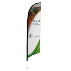 Bandera Forma Pluma 3 M
