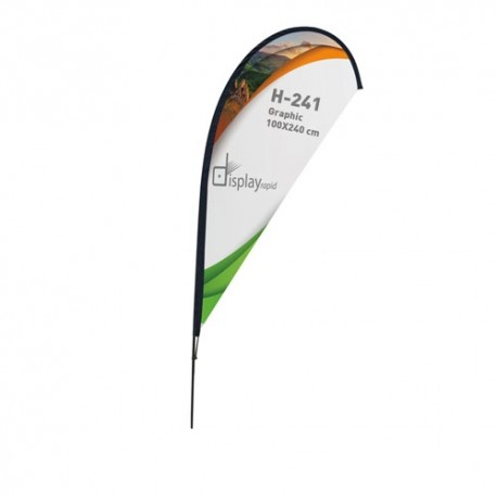 Bandera Forma Gota 3 M